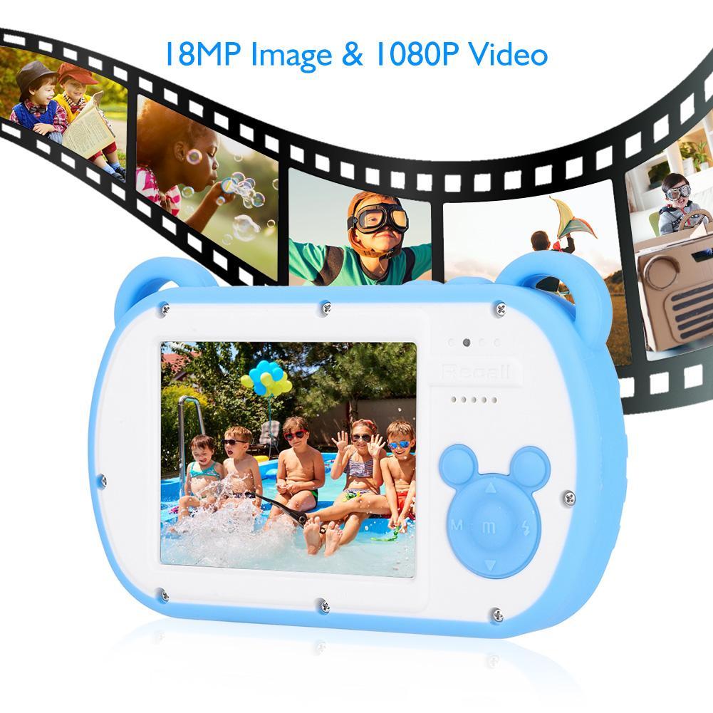 2.7 Inch Camera Hd1080p Waterdichte Kids Digitale Video Camera Kinderen Speelgoed Camcorder Auto Nachtzicht Cam Ondersteunt Sd-kaart Prijs Blijft Stabiel