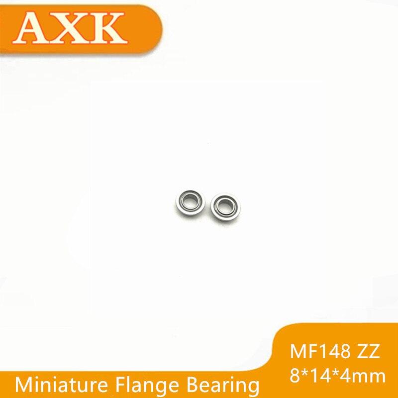 10PCS Miniature Bearings MR84-ZZ Deep Groove Ball Bearing Industry I2 G3~idNA