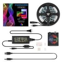 5050 RGB Ambilight USB LED Strip Light Dream Color Strip For TV Desktop PC Screen Backlight Lighting 2M 3M 4M 5M