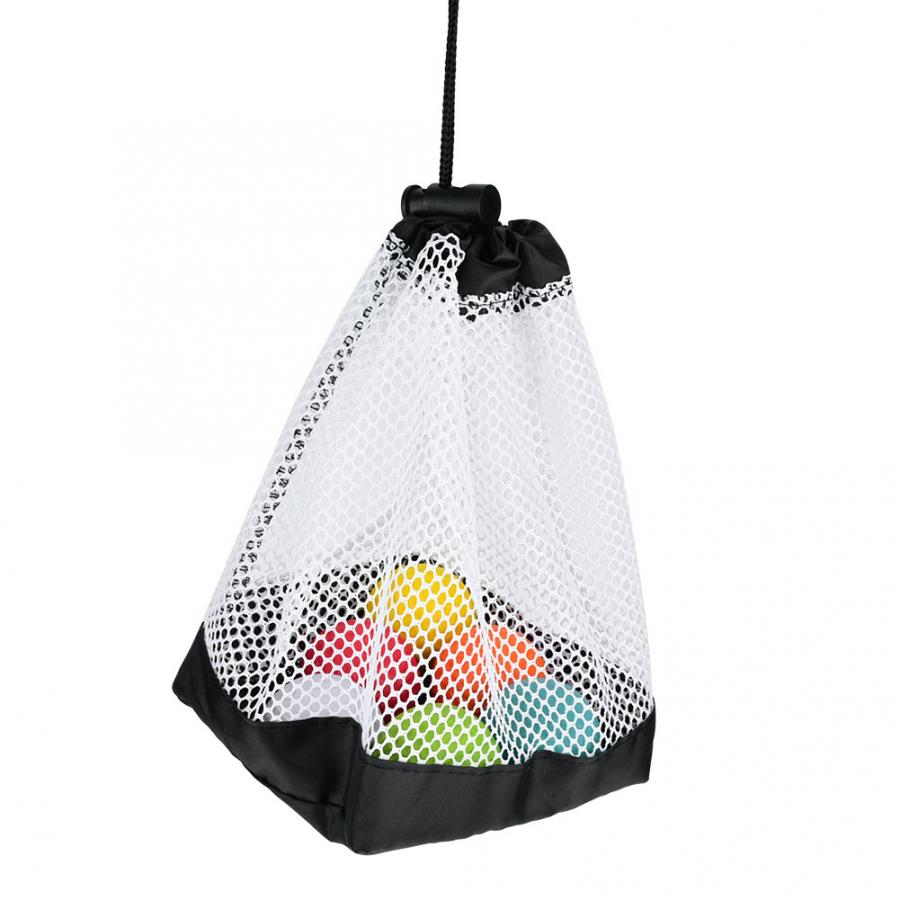 Pouch Caddy Tennis-Balls Storage Golf Mesh Carrying-Holder Clip-On Scuba-Dive-Gear Durable