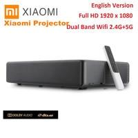 Xiaomi Mi лазерный проектор Android WEMAX ONE PRO люмен ТВ 150 дюймов 1080 Full HD 4k Bluetooth 4,0 Wi Fi 2,4 5 ГГц DOLBY DTS 3D