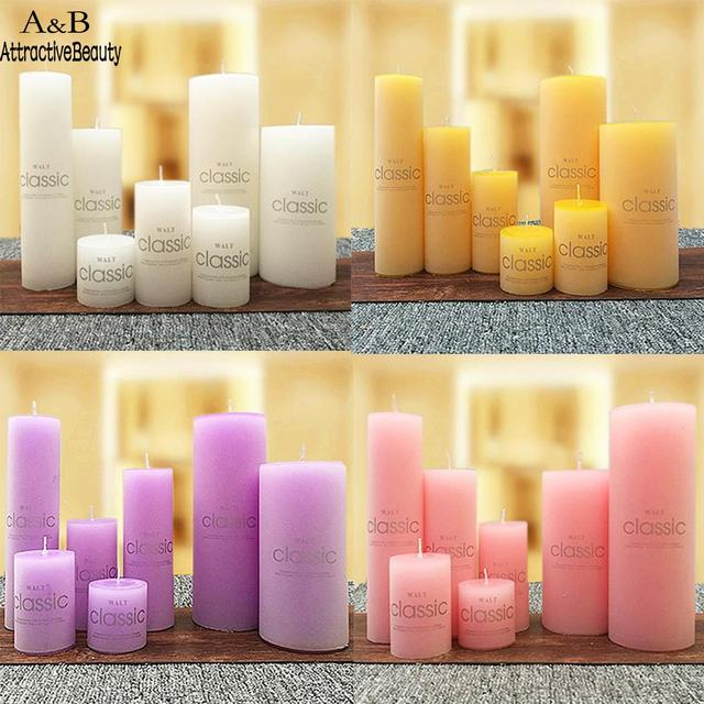New Candles Aromatherapy Wedding Scented Party Romantic Smokeless Colorful Wedding