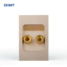 CHINT Wall Switch Socket 120 Type 9L Function Key Audio Two Terminal Group Combine Modular Bayer PC Material