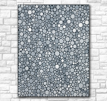 Hand painted Oil Painting Wall painting Yayoi Kusama INFINITY DOTS HOWE Home Decorative Art Picture  Living Room