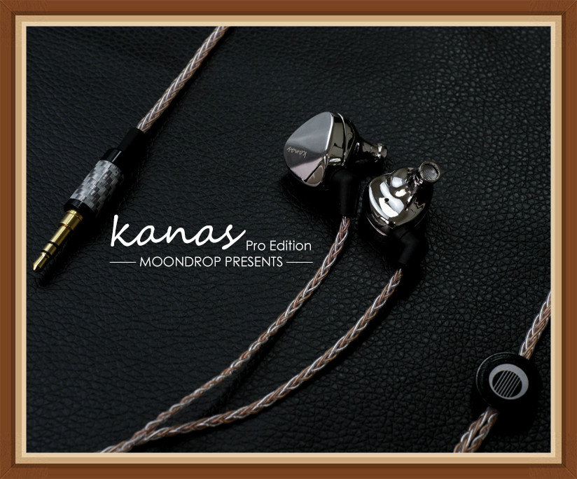 Moondrop Kanas PRO Diamond Zinc Magnesium Alloy Dynamic HIFI In Ear Earphone HIFI Music Monitor DJ