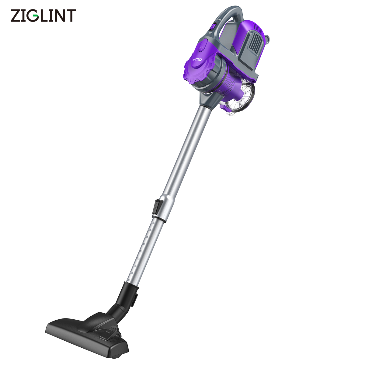 ziglint z3 multi function portable cordless rechargeable handheld vacuum cleaner 0 8l dust cup. Black Bedroom Furniture Sets. Home Design Ideas