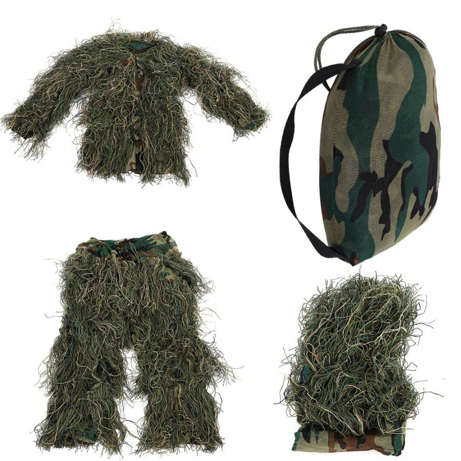 3D Children Baby Girl Jungle Suit Camouflage Hunting Uniform Combat Clothes hunting accessories