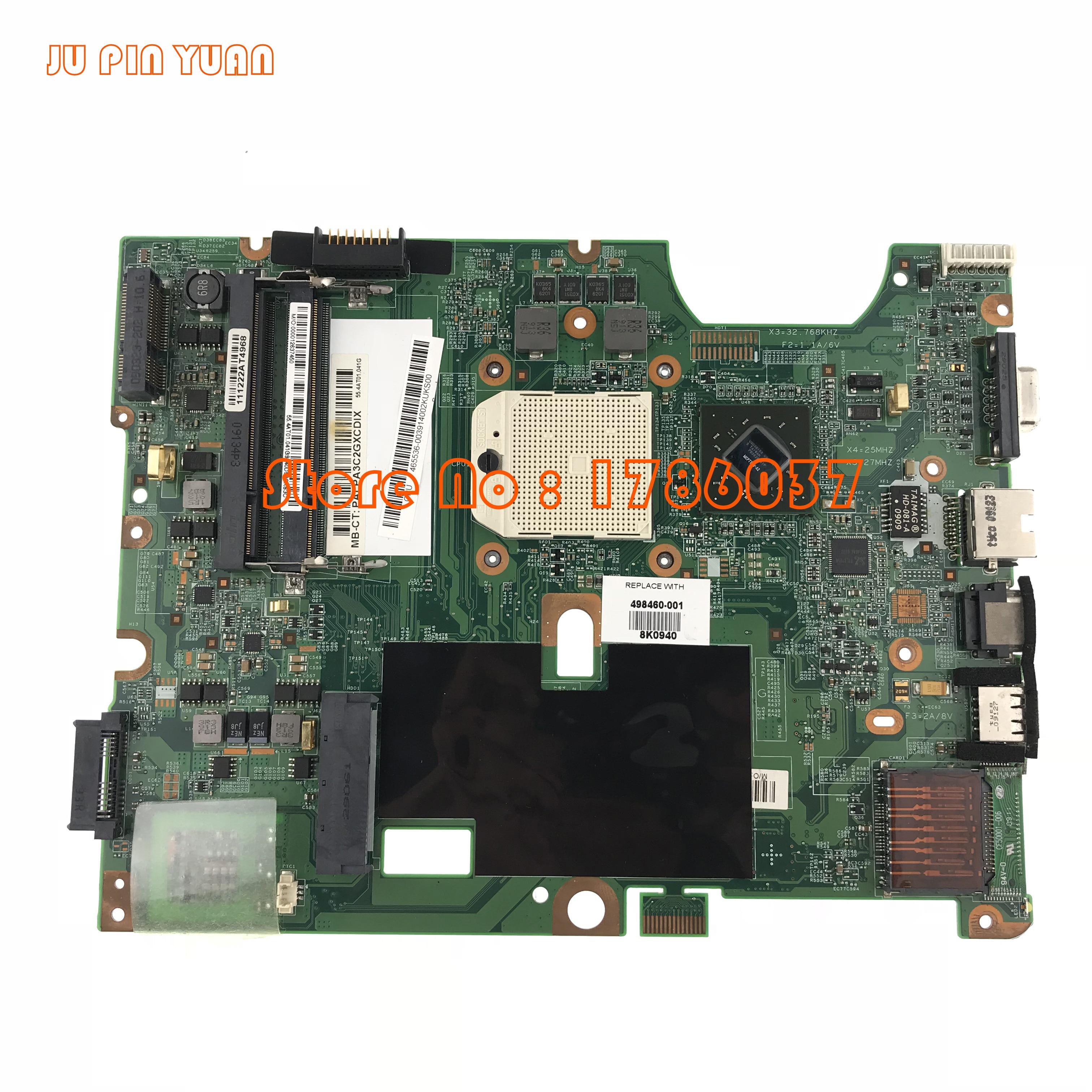 JU PIN YUANS 498460-001 pour HP Pavilion CQ50 CQ60 G50 G60 série carte mère Toutes Les fonctions entièrement Testé