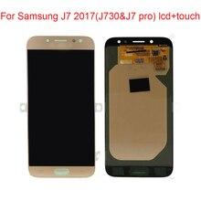 Jpfix Super AMOLED для samsung Galaxy J7 Pro J7 J730 SM-J730F ЖК-дисплей Дисплей Сенсорный экран дигитайзер в сборе