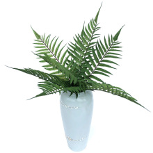 Simulation jue ye Big Persian Grass 8 Head 62cm Artificial Green View Plant Material Flower Arrangement Floral Placed Decoration big new simulation green