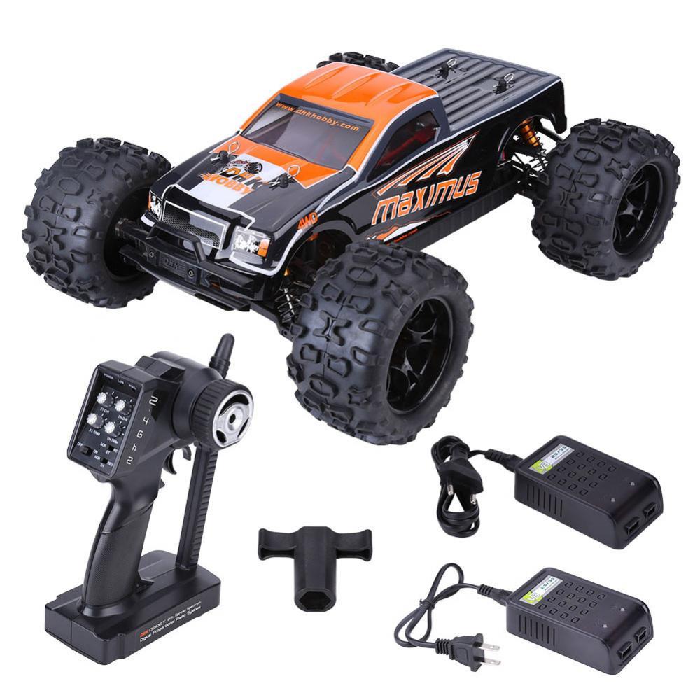 DHK 8382 1:8 2.4 GHz RC Auto Borstelloze 85 KM/H Afstandsbediening Vierwielaandrijving Auto Elektrische Afstandsbediening voertuig Speelgoed leuk cadeau-in RC Auto´s van Speelgoed & Hobbies op  Groep 1