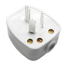 AU Plugue Rewireable Australiano CN Chinês AC Energia Elétrica Masculino W/Adaptador de Tomada Interruptor Tomada Fio Conector Do Cabo de Extensão
