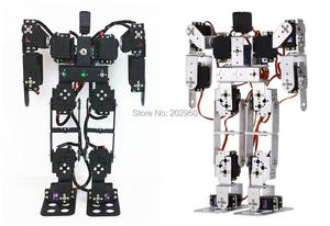 1set 13 DOF Biped Robotic Educational Robot Servo Bracket Kit With Servo Horns Un-assembled For Arduino DIY