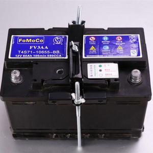 Image 5 - Универсальный Металлический регулируемый держатель аккумулятора стабилизатор крепление стеллаж для хранения фиксированный кронштейн стойка автомобильный 19/23/27 см