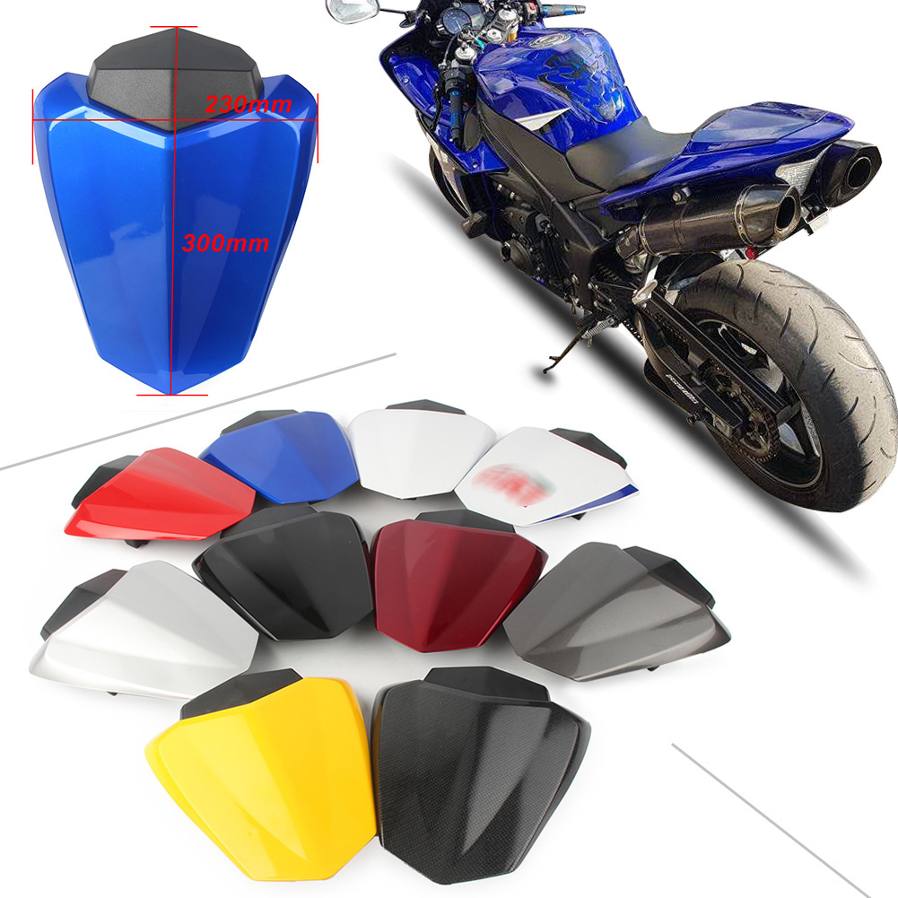 Artudatech Rear Pillion Seat Cowl Fairing Cover For 2017-2018 Yamaha YZF-R6 YZF R6 Blue
