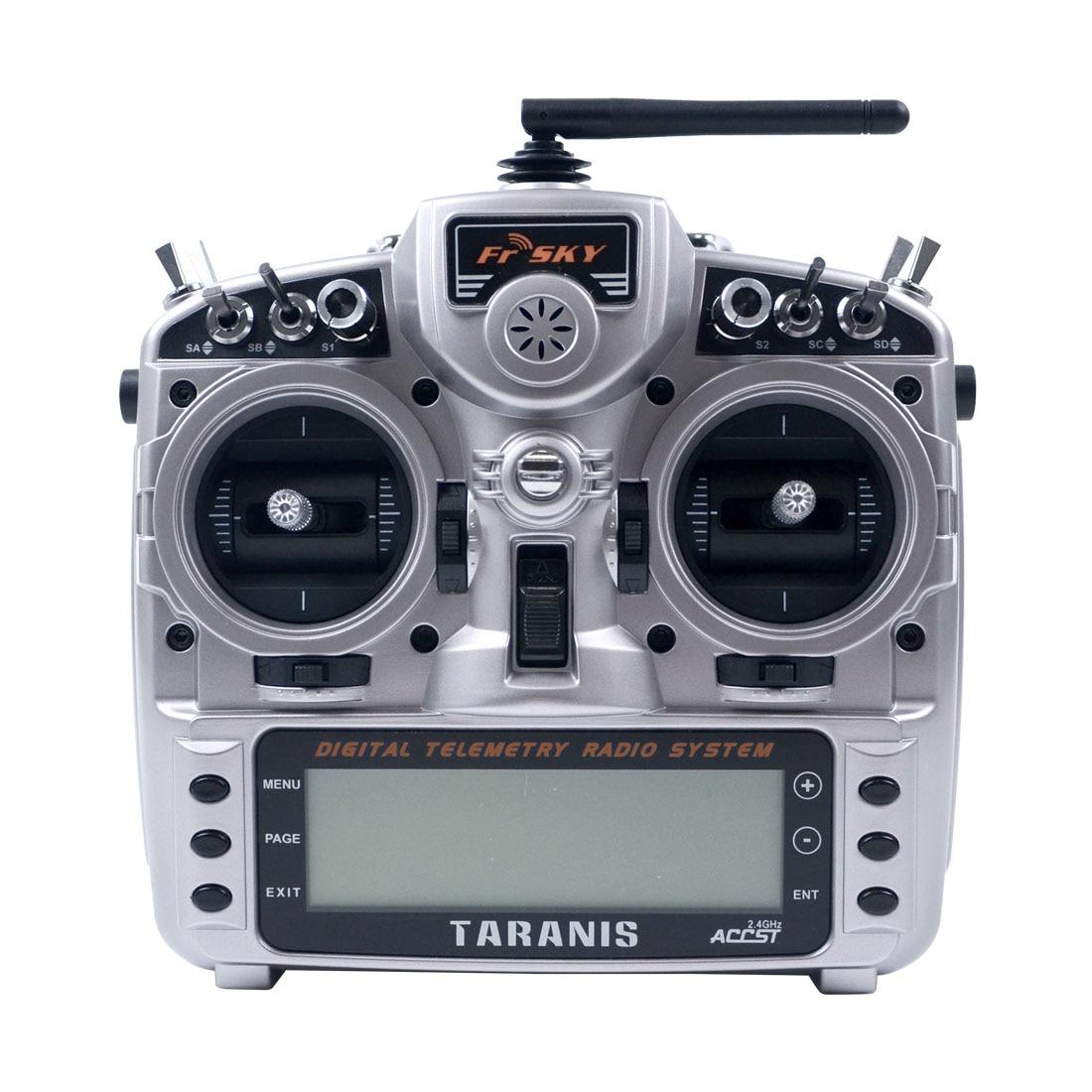 JMT FRSKY Taranis X9D Plus 16CH double-voie 4 axes Open Source télécommande FPV RC Drone émetteur avec X8R X9d plus + l9r RX