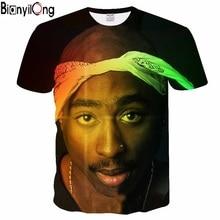 2018 nuevos hombres calientes mujeres muchacha muchacho moda T-shirt 3D  impresión tuge vida tupac 2pac hip hop camiseta del vera. e47323752a6