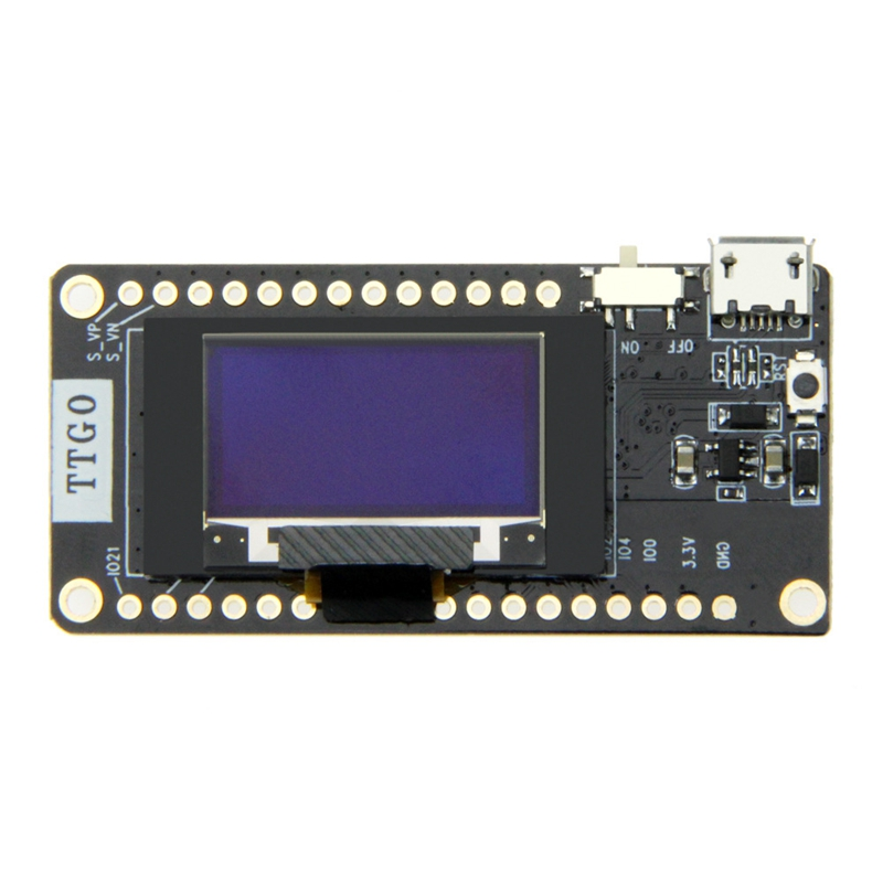 Image 3 - Ttgo Newest Lora32 V2.0 868Mhz Esp32 Lora Oled 0.96 Inch Sd Card Blue Display Bluetooth Wifi Esp32 Esp 32 Module With Antenna-in Circuits from Consumer Electronics