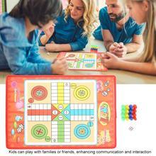 Детские Классические летные шахматы, Людо, шахматы, семейные, вечерние, детские, забавные, настольные игры, игрушки, развивающие игрушки для детей, забавные подарки