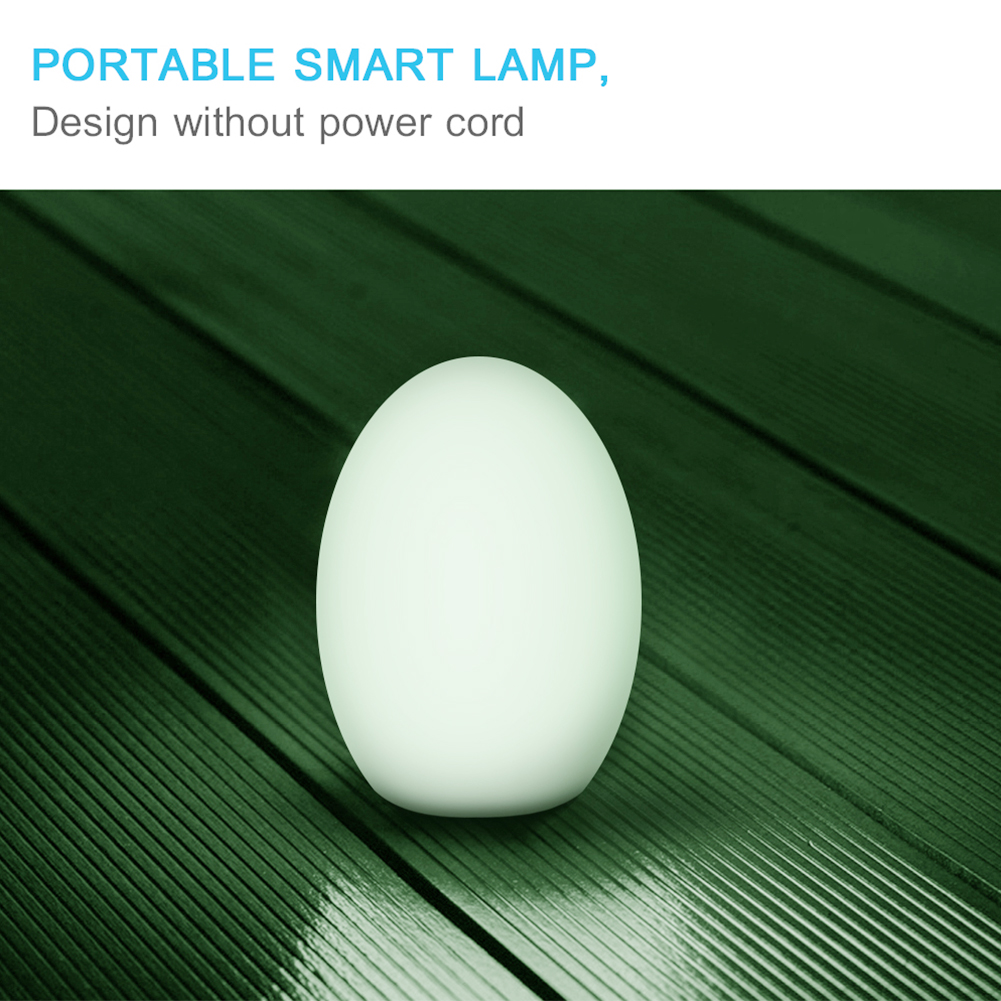 RGB Smart Waterproof Timing Travel Touch Control Night Light Phone Remote Dimmable WIFI Bulb Color Changing For Google Home