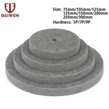 цена на 3-12 Nylon Fiber Polishing Wheel Buffing Disc For Stainless Steel Copper Aluminum Marble Furniture Polishing 5/7/9P