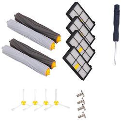Набор для замены Roomba серии 800 включает набор для удаления мусора и боковые щетки и фильтры Hepa для Roomba 870 880 98