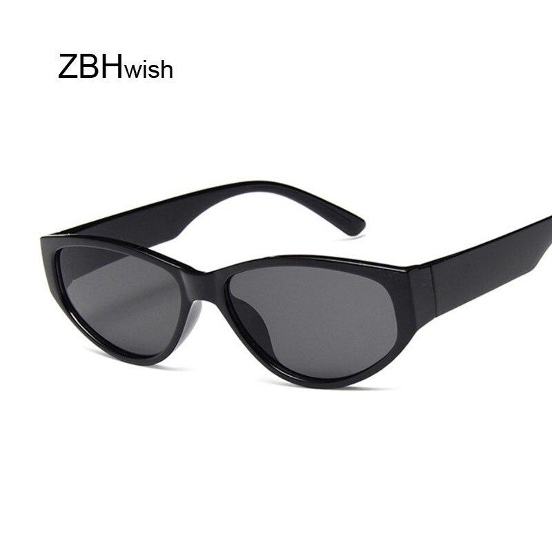 Sexy Cat Eye Sunglasses Women Brand Designer Mirror Sun Glasses Ladies Round Lens Shades For Female Eyewear UV400 Oculos