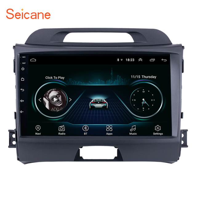 Seicane Android 8.1 9 inch Wifi Head Unit Radio Audio GPS Multimedia Player For 2010 2011 2012 2013 2014 2015 KIA Sportage