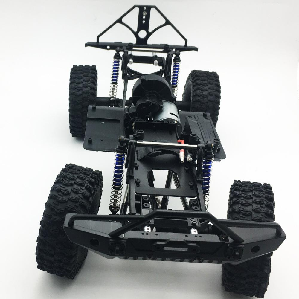 LeadingStar 313mm 12.3in Wheelbase Assembled Frame Chassis for 1/10 RC Crawler Car SCX10 SCX10 II 90046 90047LeadingStar 313mm 12.3in Wheelbase Assembled Frame Chassis for 1/10 RC Crawler Car SCX10 SCX10 II 90046 90047