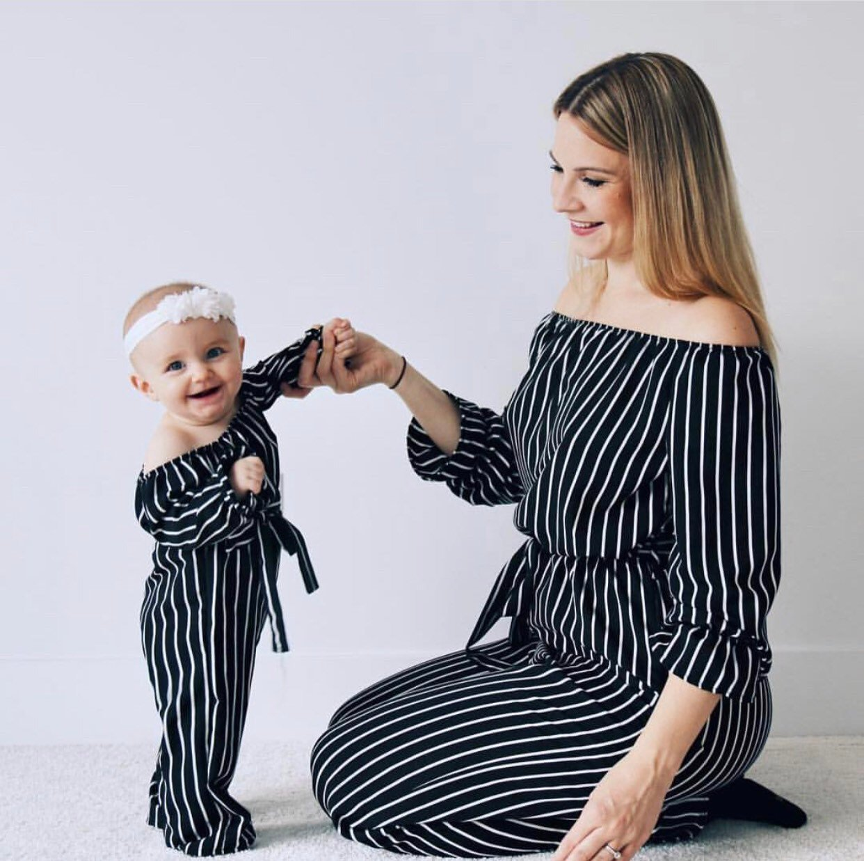 203fd32ead7 best mom and daughter black matching clothes list and get free ...