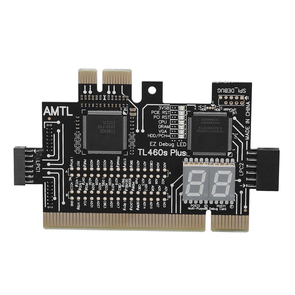 Motherboard PCI / PCIE / Mini PCIE / LPC PC Analyzer Diagnostic Card For Laptop Desktop Test Post Debug Card 2019