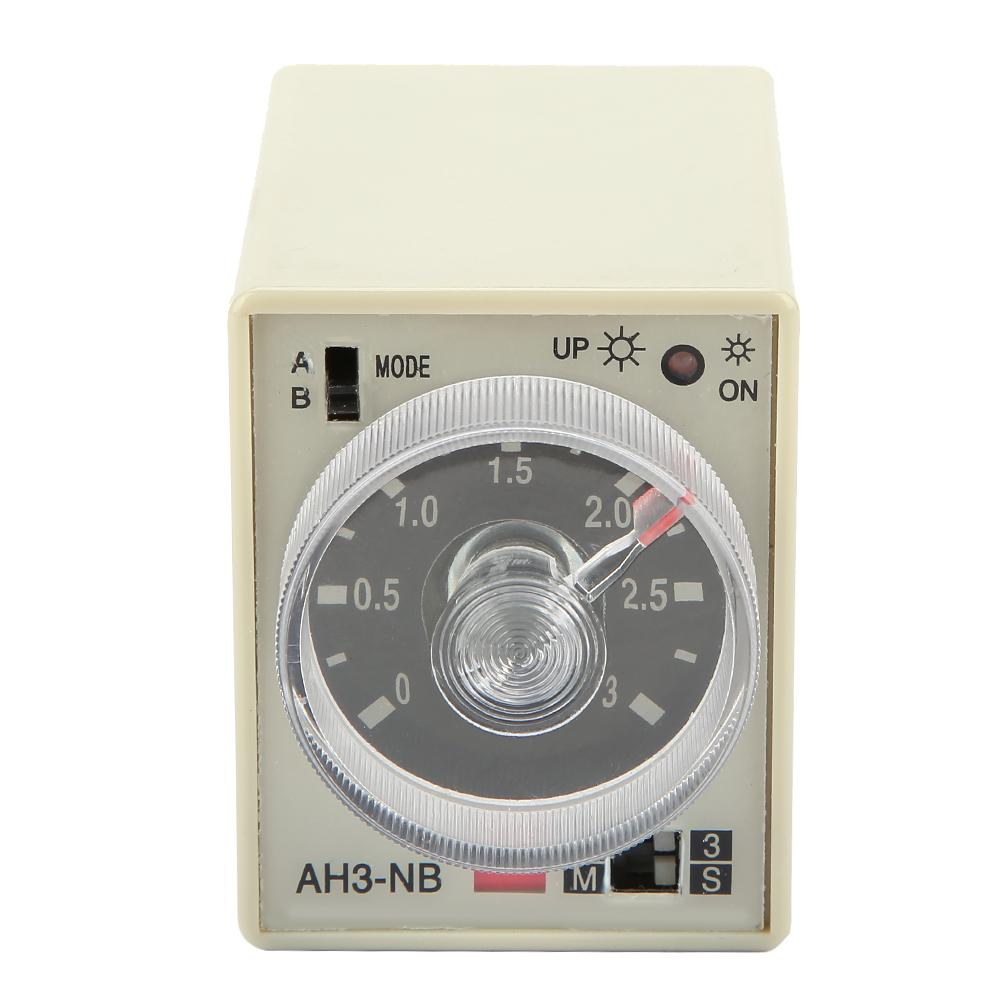 Max 5S 24VAC H3Y-2 Power On 3A Time Delay Relay Solid-State Timer DPDT Socket