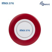 LM101.376 Loud Indoor Siren Wireless Flashing Alarm Horn Red Light Strobe For Zwave Home and Business Security