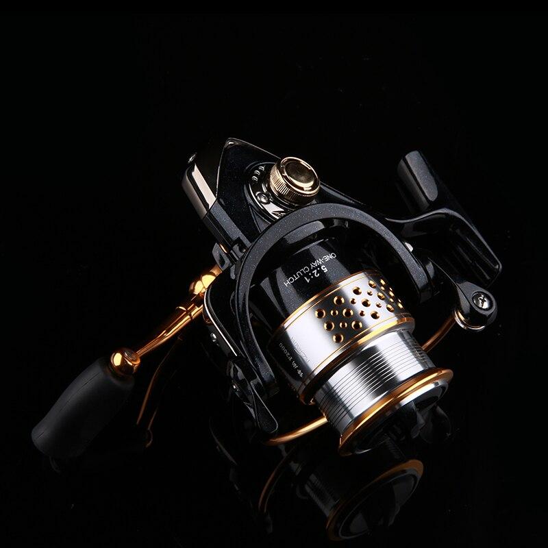 TSURINOYA  Fishing Reels FENGSHANG 2000  8+1BB 5.2:1 Two spool Saltwater Lightweight Spinning Fishing Reel