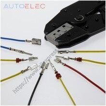 Outil de sertissage/pince à sertir à cliquet pour bornes automobiles, connecteur étanche pour ampli Molex DELPHI tyco, 2/3 3