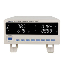 PM9801 ACVoltage Current Power Factor  Digital power meter tester  Dynamometer  Electrical parameter tester Alarm Function