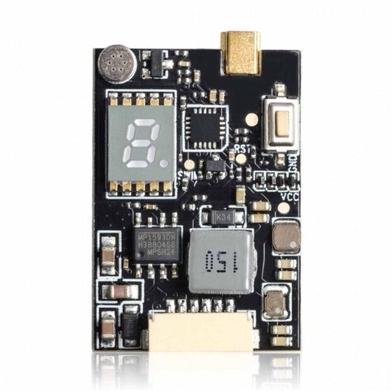 AKK X2-ultimate US 25mW/200mW/600mW/1000mW 5.8GHz 37CH AV FPV Transmitter VTX with Smart Audio Mic for Drone Multi Rotor Parts