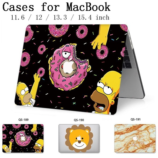 For Notebook Laptop Case Sleeve For MacBook 13.3 15.4 Inch For MacBook Air Pro Retina 11 12 With Screen Protector Keyboard Cove