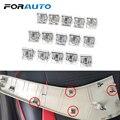 FORAUTO 15 штук автомобильные приборные панели DVD Универсальный Автомобильный Крепеж внутренняя отделка Плита стационарная железная скоба для ...