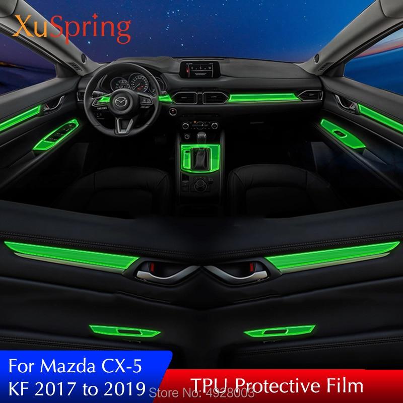 Car interior protective tpu film coverage sticker bright - Automotive interior protective film ...