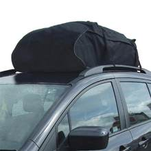 Car Roof Top Bag Rack Cargo Carrier Luggage Storage Travel Waterproof Bag For Universal Vehicle SUV Automobiles(China)