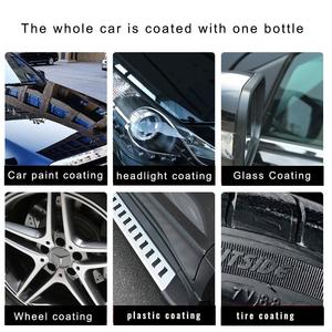 Image 5 - Liquid Ceramic Spray Coating Car Polish Spray Sealant Top Coat Quick Nano Coating 500ML Car Spray Wax Car Cleaning For Car