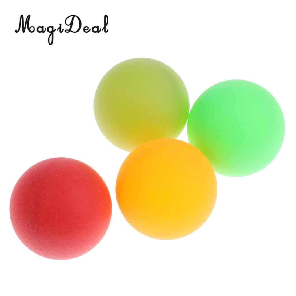 Magideal Pack Of 100 Ping Pong Table Tennis Balls Beer Pong Colorful Cat Balls Assorted Color Plastic Balls Kids Birthday Gift