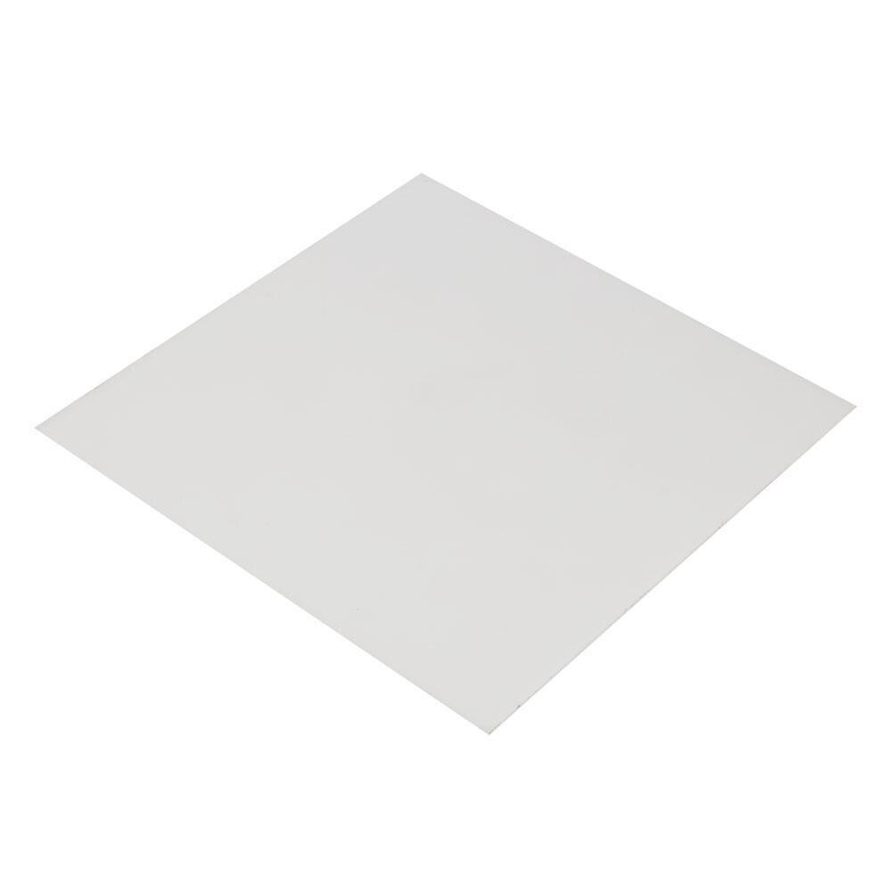 Acetal POM Sheet Polyoxymethylene Plate Sheet 200 x 200 x 8mm Black