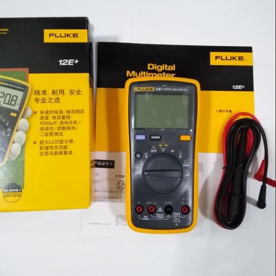 Fluke 12E+ Auto Range Digital Multimeter AC/DC Voltage