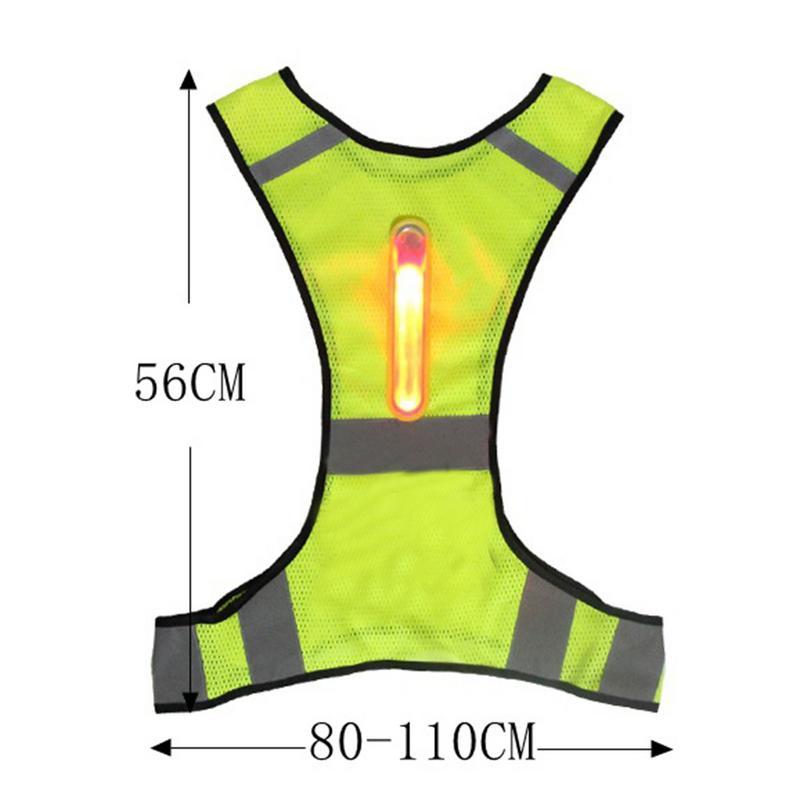 227608cd310 Chaleco de seguridad reflectante de alta visibilidad para hombre con  impresión de logotipo de pantalla de