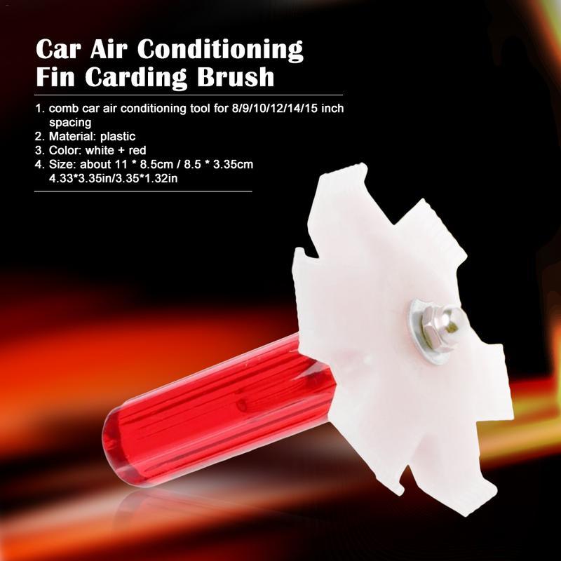 1 Stücke Auto Klimaanlage Fin Kardieren Pinsel Kondensator Kühlkörper Finishing Pinsel Klimaanlage Ausrüstung