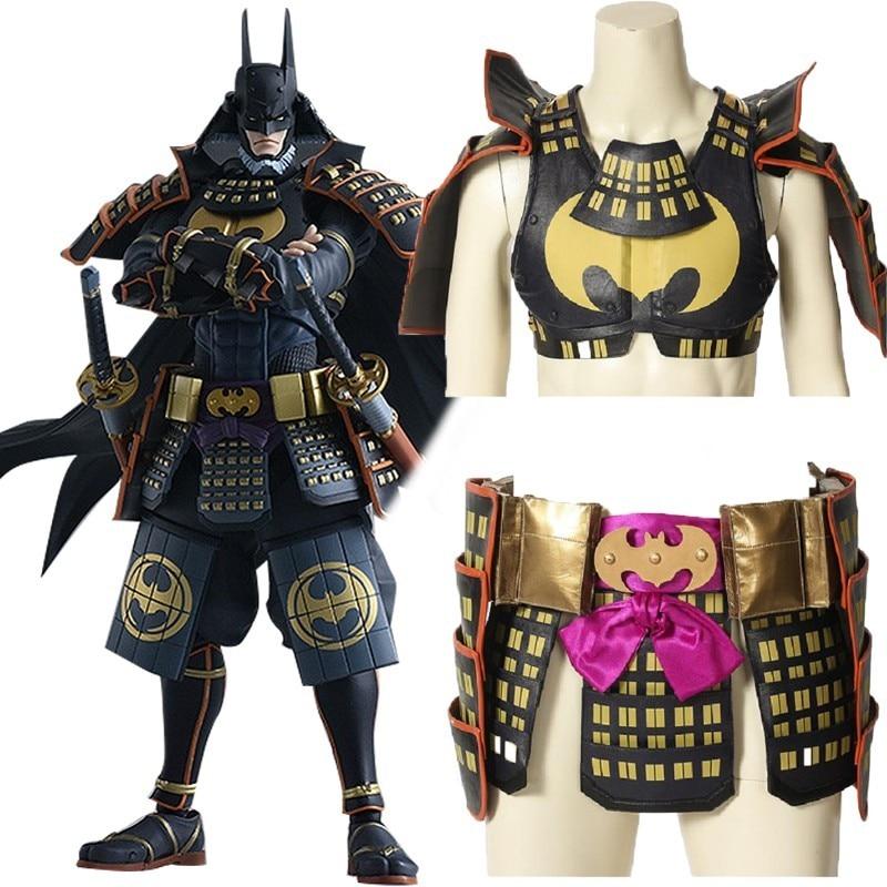 Batman Ninja Cosplay Bruce Wayne Costume Cloak Halloween ...