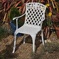 Литые алюминиевые стулья  мебель для патио  садовая мебель  уличная мебель  прочная  без подушек