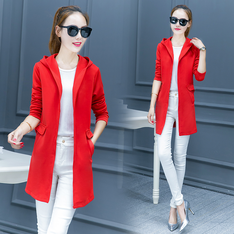 Cape Coat Thin Cardigan New Women's Leisure Joker Long In The Spring And Autumn Period And The Long Sleeve Trench Coat Of Cultiv